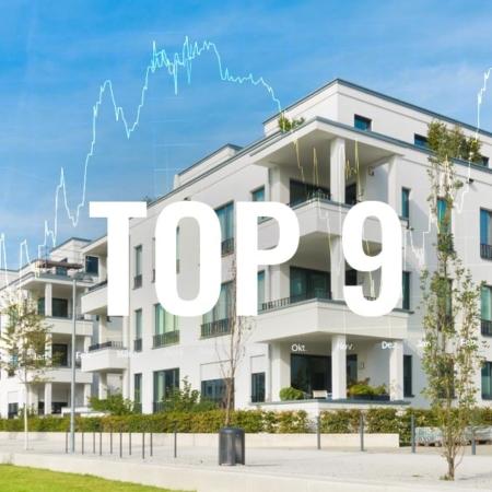 Immobilien Aktie - Top 9 Empfehlung für Geld Anlage