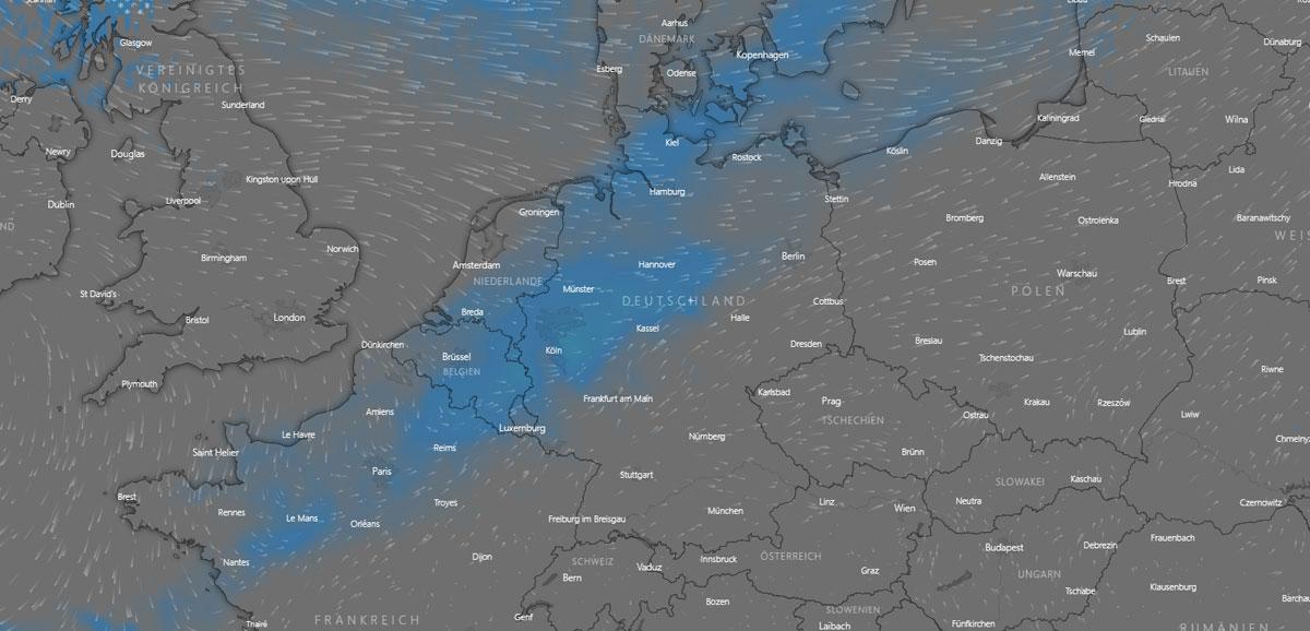 Wetter in Saarbrücken: Vorhersage, Sonnenstunden, Wind und Wolken