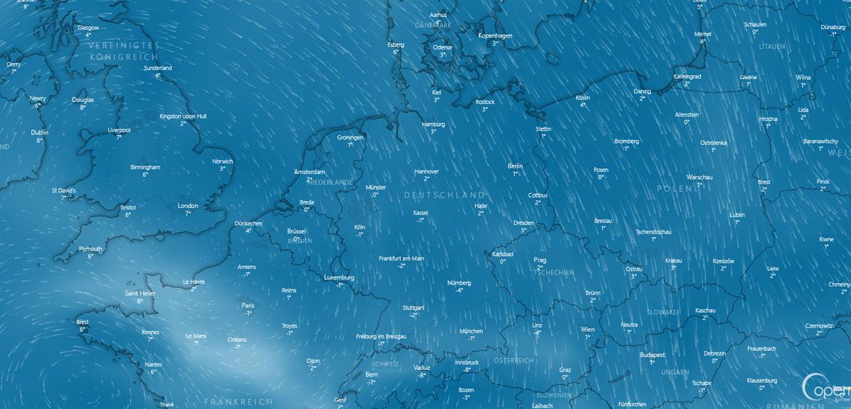 Wetter in Bonn: Vorhersage, Temperatur, Sturm und Sonne