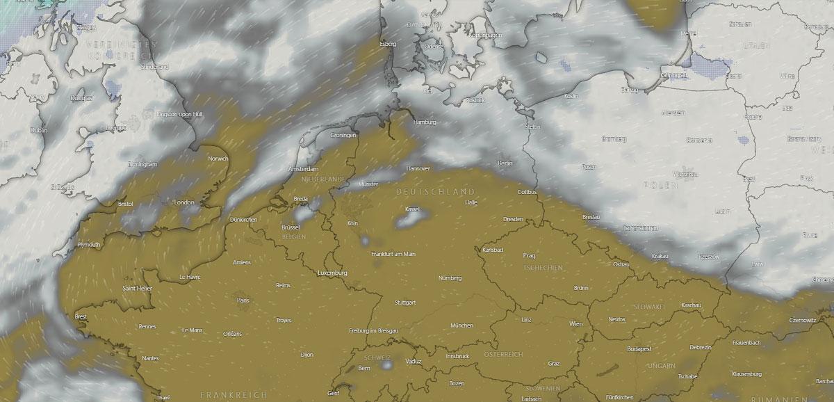 Wetter in Moers: Gewitter, Sonne, Hausbau und Temperatur